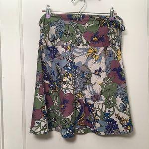 Patagonia lithia floral 2 way skirt / top